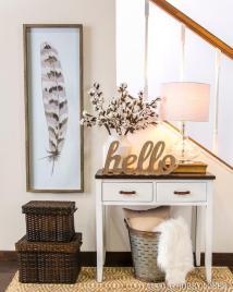 Small Entryway Decor Ideas Can Copy