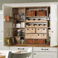 Small Kitchen Pantry Ideas Organized
