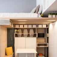 Small Studio Loft Apartment Design Ideas Beautiful