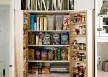 Sneaky Kitchen Storage Ideas Ward Log Homes