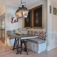 Space Savvy Banquettes Built Storage Underneath