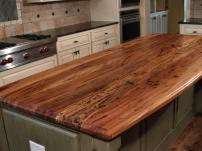 Spalted Pecan Wood Countertop Devos