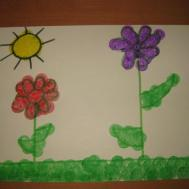 Spring Flowers Arts Crafts Activity Toddlers