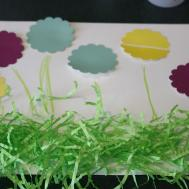 Spring Flowers Fun Meal Kids Easy Craft
