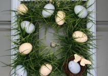 Spring Grass Easter Wreath Guest Tutorial Csi Project