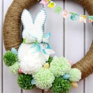 Spring Pom Wreath