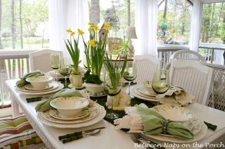 Spring Tablescapes Melanie Lark Design