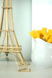 Springtime Paris Diy Eiffel Tower Lamp Makeover