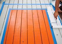 Spruce Deck Painted Rug Tos Diy
