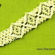 Square Knot Bracelet Diamonds Beads Diy