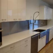 Stainless Kitchen Backsplash Steel