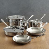 Stainless Steel Pots Modern Kitchen