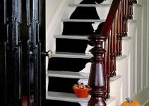 Staircase Silhouette Halloween Decorations Martha Stewart