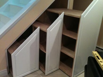 Staircase Under Stairs Storage Ideas Modern