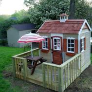 Standing Tree House Sale Inexpensive Playhouse
