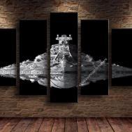 Star Wars Spaceship Home Decor Piece Canvas Wall