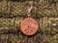 Stitch Marker Progress Keeper Zipper Pull Charm