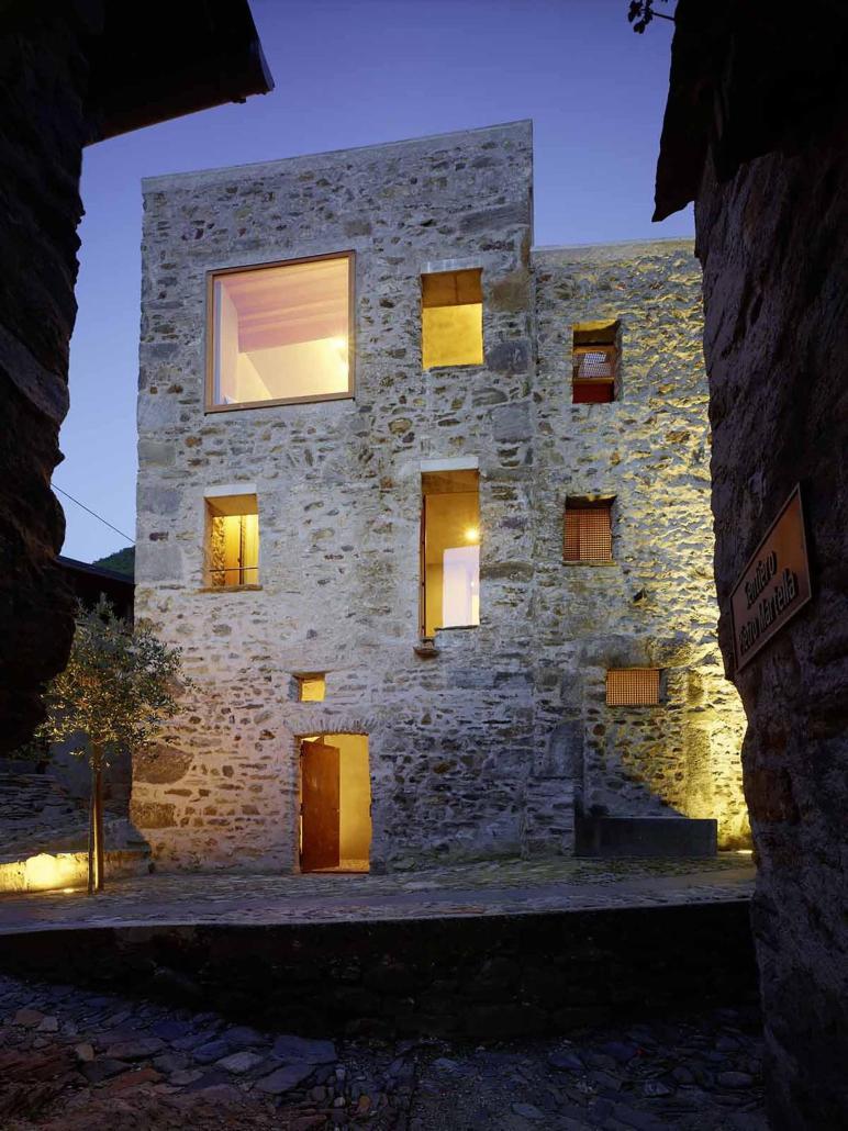 Stone House Renovation Wespi Meuron Romeo Architects