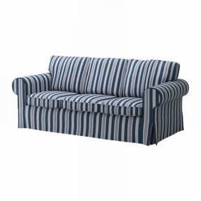 Striped Sofa Slipcovers Nip Ektorp