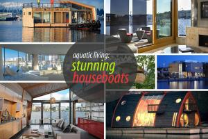 Stunning Houseboats Aquatic Living