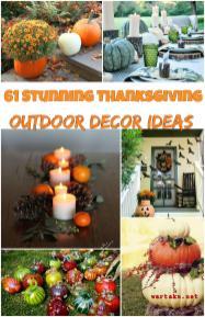 Stunning Thanksgiving Outdoor Decor Ideas Wartaku