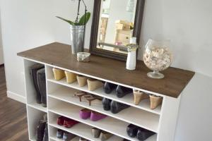 Stylish Diy Shoe Rack Perfect Any Room