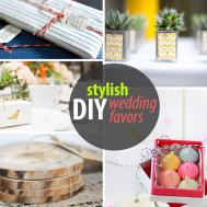 Stylish Diy Wedding Favors Decoist