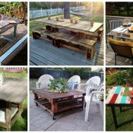 Super Easy Ideas Make Fascinating Diy Pallet Table