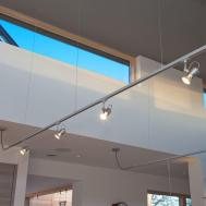 Suspended Track Lighting