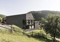 Swiss Delight Modern Single Family House Concrete Wood