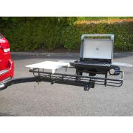 Tailgate Hitch Grill Station Trailer Stowaway