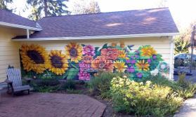 Talking Walls Garden Winter Flower Wall Murals