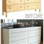 Tarva Transformed Into Kitchen Sideboard All