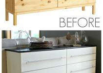 Tarva Transformed Into Kitchen Sideboard All
