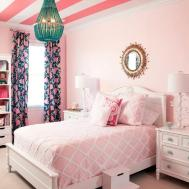 Teens Room Decorating Ideas Cute White Pink Girly Bedroom