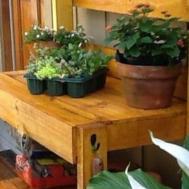 Tempting Creative Potting Benches Idea Box Shaunna