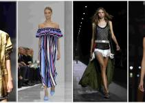 Ten Hot Fashion Trends Spring Summer 2016 Pamper