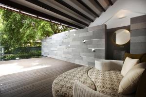 Terrace Wood Decking Shop House Renovation Singapore