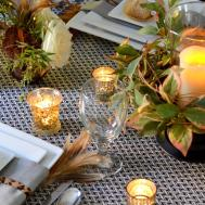 Thanksgiving Table Setting Fall Tablescape