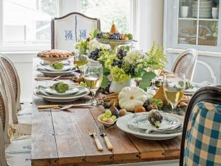 Thanksgiving Table Setting Ideas Entertaining Party Create
