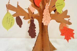 Thanksgiving Tree Craft Arbordale Publishing Blog