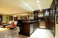Themed Basement Bar Designs