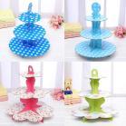 Tier Diy Paper Cupcake Stand Dissert Candy Storage