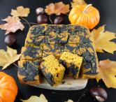 Tiger Bars Black Sesame Swirl Pumpkin Cake Vivanttang