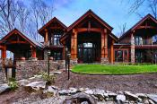 Timber Frame Home Exteriors New Energy Works
