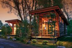Tiny Rustic Cabins Could Call Home House