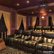 Tips Creating Media Room Big Small Devine