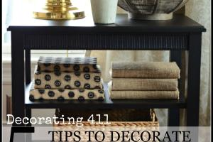 Tips Decorate Accent Table Shelves Like Pro