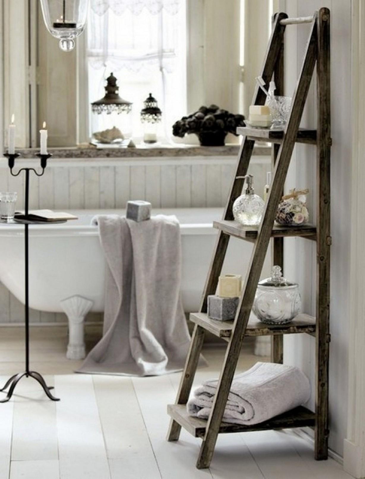 Towel Rack Ideas More Beautiful Bathroom - Decoratorist ...