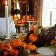 Traditional Thanksgiving Decorating Ideas Living Room